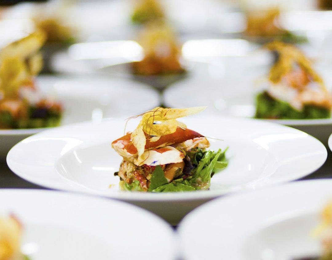 ensalada de bogavante